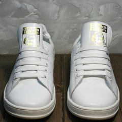 Белые кроссовки женские Adidas Stan Smith White-R A14w15wg