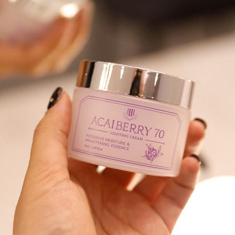 Антиоксидантный питательный крем с ягодами асаи, 50 г / 1004 Laboratory Acai Berry 70 Protecting Cream