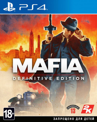 PS4 Mafia: Definitive Edition (русская версия)