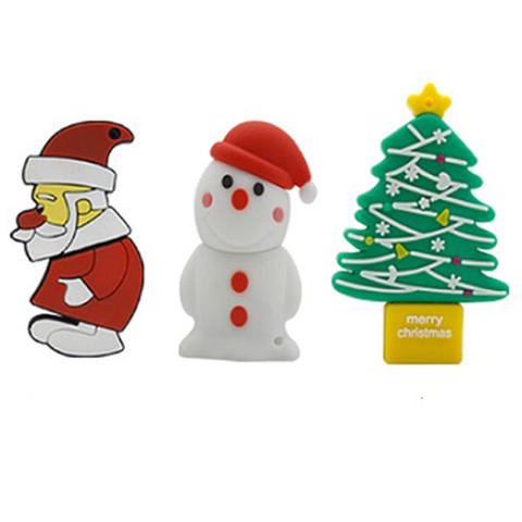 Christmas Gift USB 2.0 Flash Memory Drive 16 GB