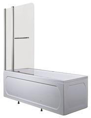 Шторка для ванны 1Marka 4604613103354 P-05 82х150 стекло Мислайт