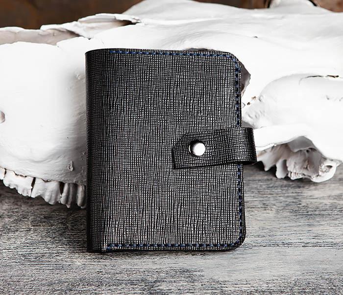 WB169-1 Кожаное портмоне ручной работы для документов фото 01