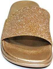 Обувь шлепанцы J.B.P. Shoes NU25 Gold.