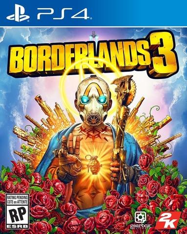 PS4 Borderlands 3 (русские субтитры)