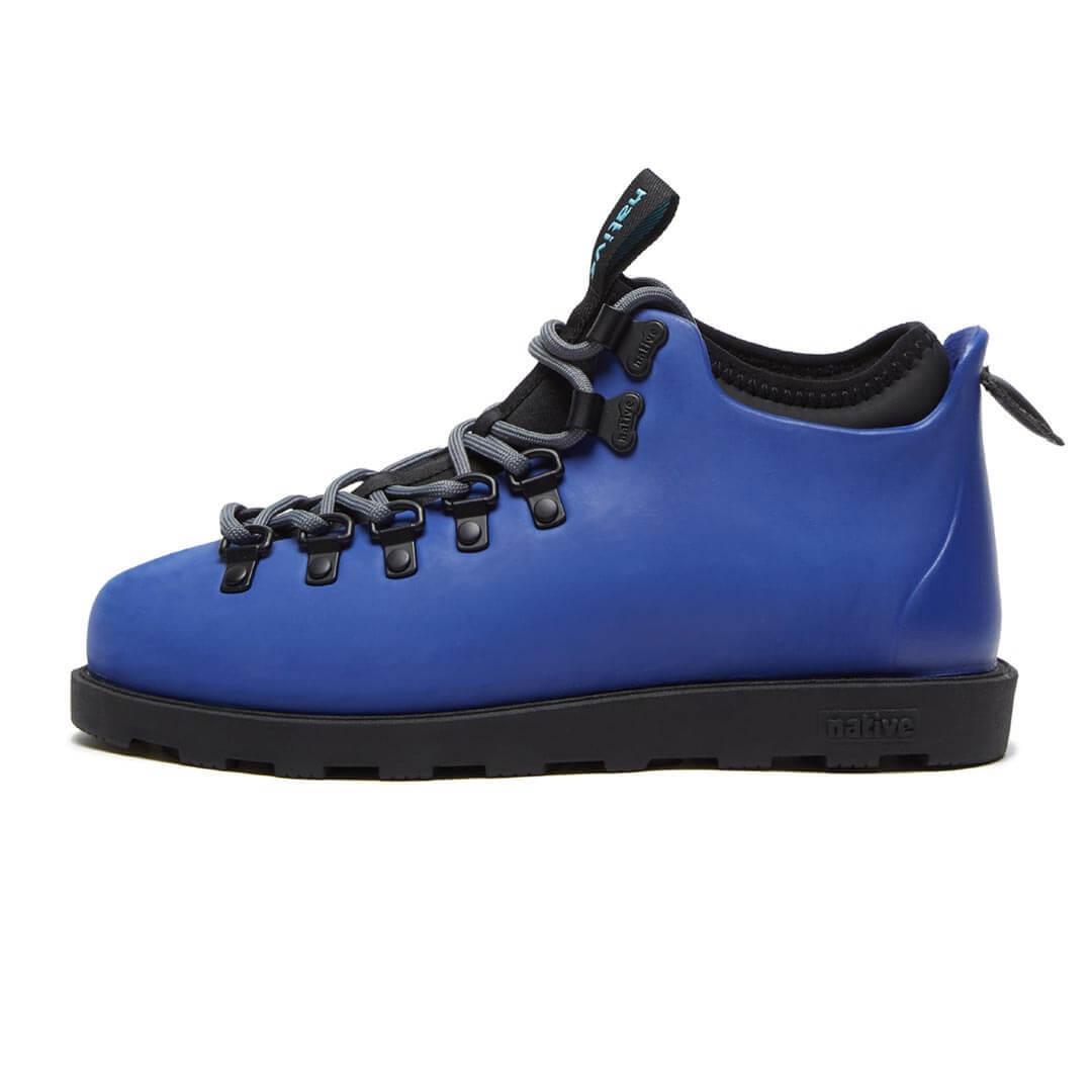 Ботинки Native Fitzsimmons Reflex Blue Jiffy Black