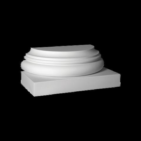 База (полуколонна) Европласт из полиуретана 4.17.101, интернет магазин Волео