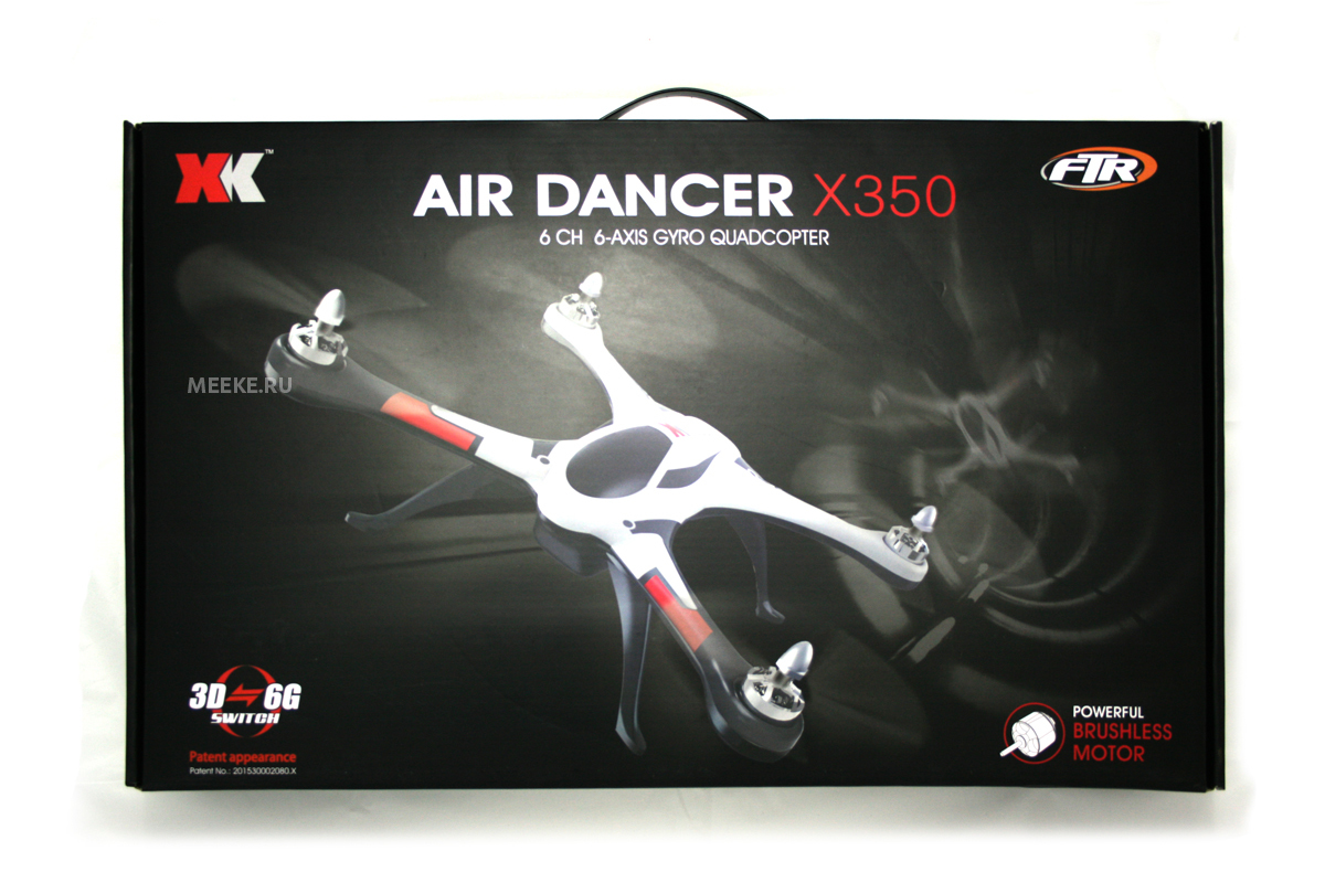 Квадрокоптер XK Stunt X350 Air Dancer для 3D полетов