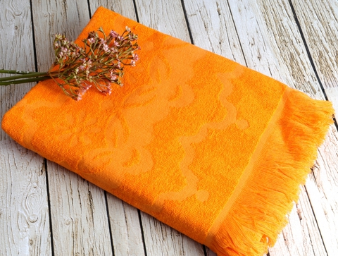 DAISY  Turkuaz (голубой)  полотенце пляжное бамбуковое  IRYA (Турция)