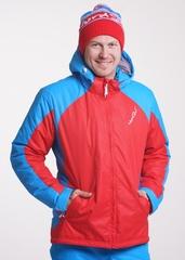 Утеплённая прогулочная лыжная куртка Nordski National Red мужская