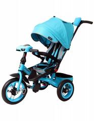 Велосипед Moby Kids Leader 360° 12x10 AIR Car Бирюзовый (641072)