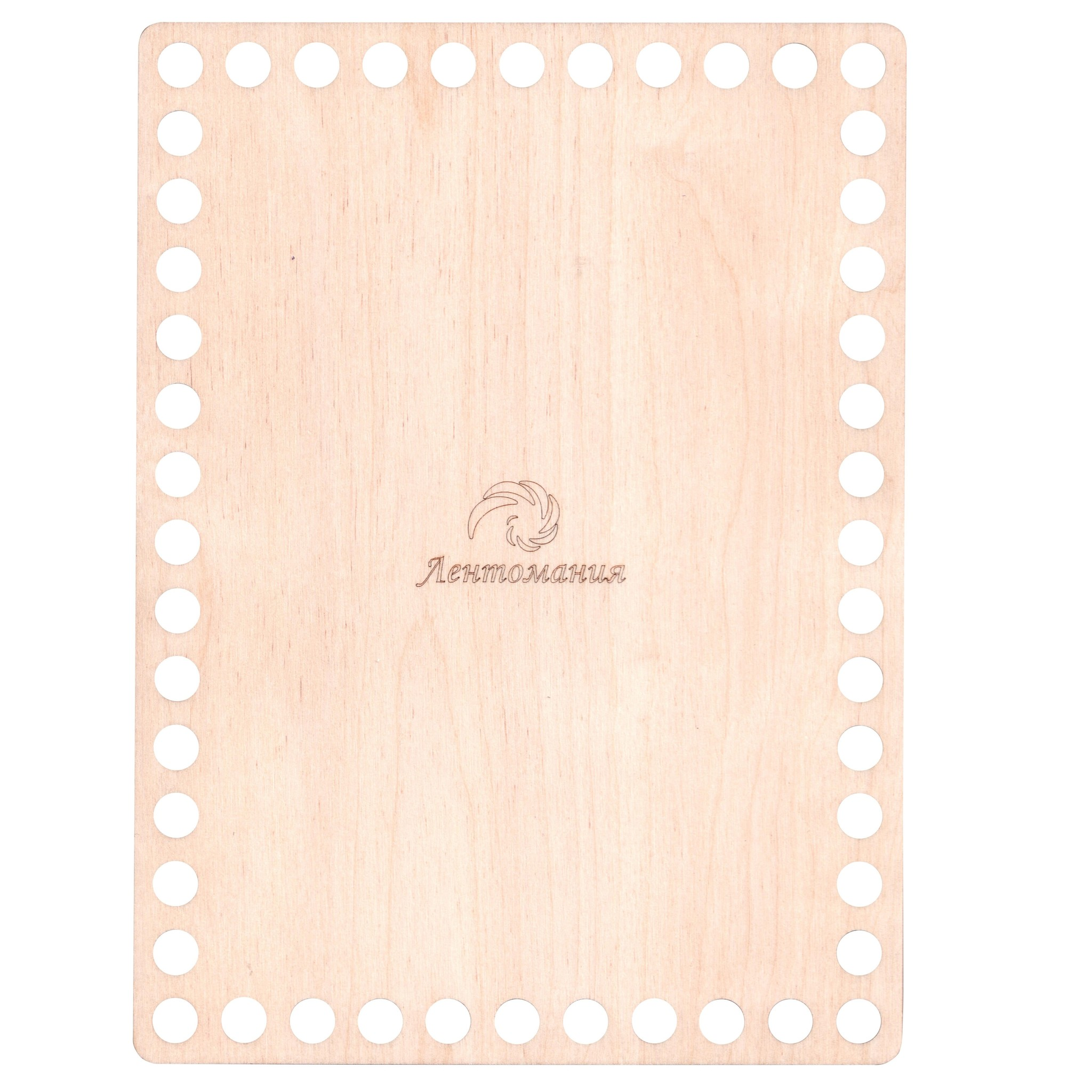 Донышки для корзин Прямоугольное деревянное дно 15*20,3см 005.jpg
