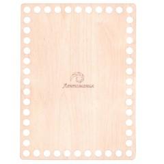 Прямоугольное деревянное дно 15*20,3см