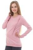 Джемпер для беременных и кормящих 10182 лиловый