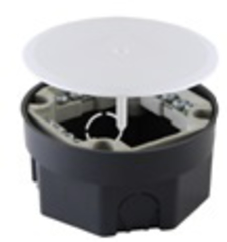 Распаячная коробка СП D103х50мм, крышка, клеммник, IP20, TDM