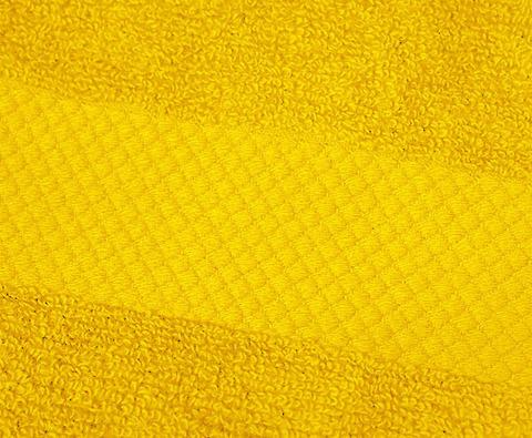 Полотенце 40х75 Mirabello Microcotton желтое