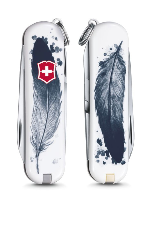 "Нож-брелок Victorinox Classic LE 2016, 58 мм, 7 функ, ""Light as a Feather"" (0.6223.L1605)"