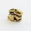 """Бусина TierraCast """"Кролик"""" 10х7 мм (цвет-античное золото)"""