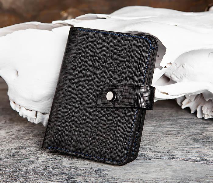 WB169-1 Кожаное портмоне ручной работы для документов фото 04
