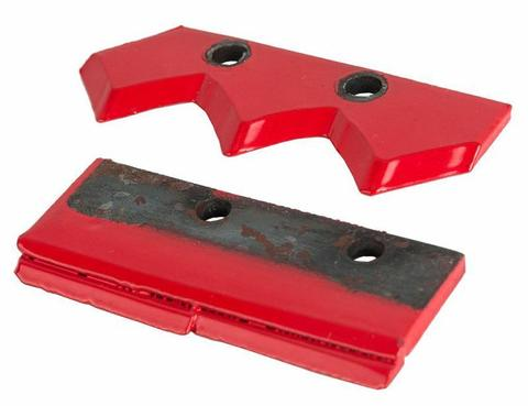 Нож сменный двухзаходного шнека для грунта DDE (150 мм) (пара)