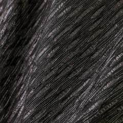 Хлопковый жаккард с добавлением полиэстера черного цвета