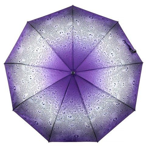 Зонт женский, капли дождя, Dolphin 523-2