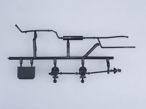 ZIL-131 AC-40 fire engine 1971 Kit 1:43 Car Models in Detail (by SSM) Start Scale Models