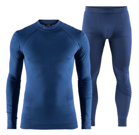 Craft Active Intensity мужской комплект термобелья blue