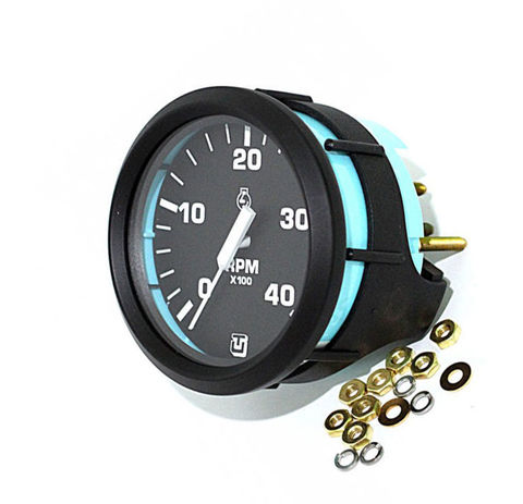 Тахометр 4000 об/мин для дизельных моторов (U)