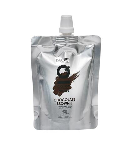 Шоколадный брауни Деваль Косметикс прямой краситель для волос 200мл