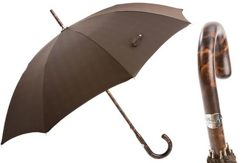 Зонт-трость Pasotti Solid Stick Hickory Umbrella, Италия