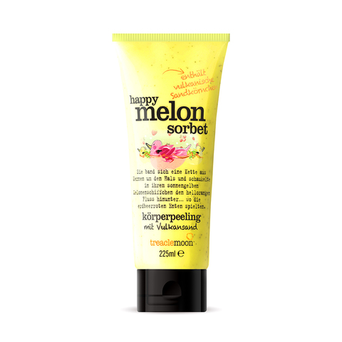 TREACLEMOON | Скраб для тела Дынный сорбет/ Happy melon sorbet  Body scrub, (225 мл)