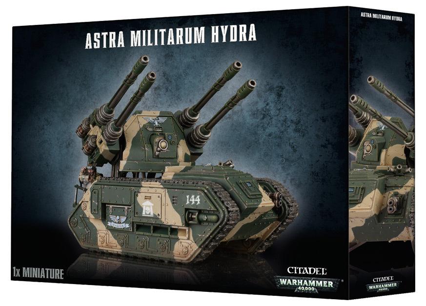 Astra Militarum Hydra / Wyvern. Коробка