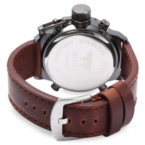 Часы мужские наручные армейские военные Amst - Амст