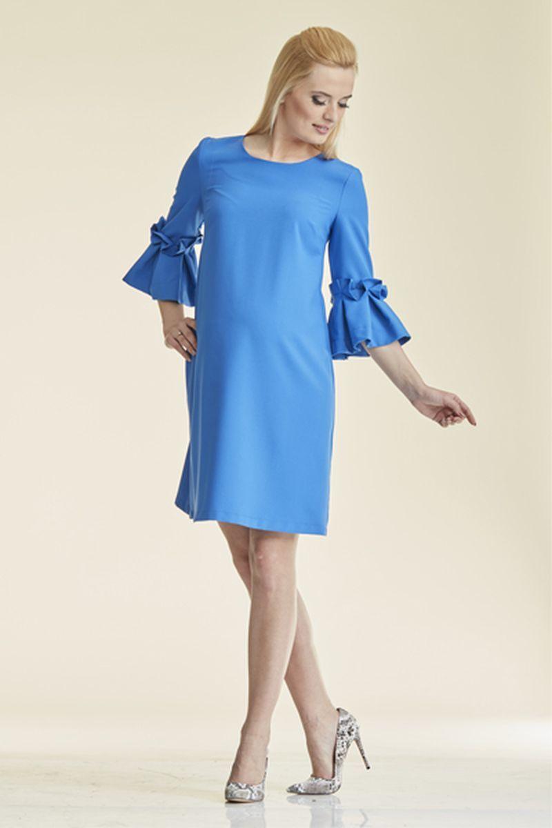 Платье 08829 синий