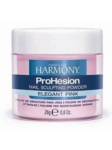 HARMONY ProHesion Elegant Pink Powder - прозрачно-розовая акриловая пудра, 28 г