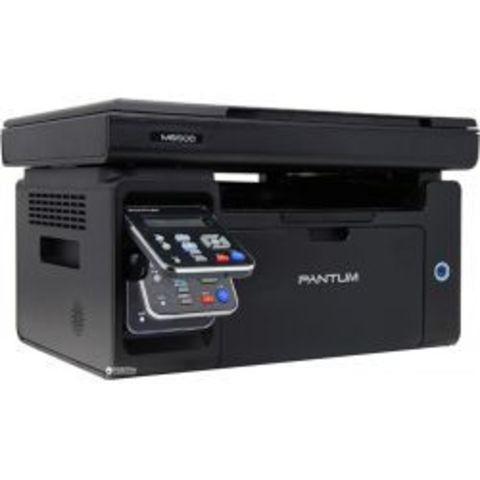 МФУ Pantum M6500W - лазерное, монохромное, А4, копир/принтер/сканер, 22 стр/мин, 1200 X 1200 dpi, 128Мб RAM, лоток 150 стр, USB/WiFi, черный корпус