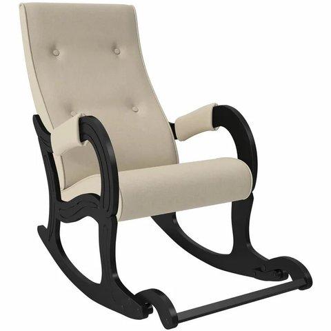 Кресло-качалка Комфорт Модель 707 венге/Montana 902, 013.707