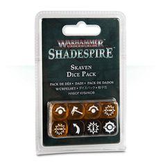Warhammer Underworlds: Shadespire – Skaven Dice Pack [предзаказ]