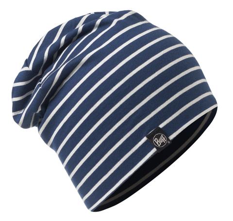 Летняя шапка из хлопка Buff Denim Stripes