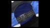 Бейсболка Asics Running Cap blue унисекс b