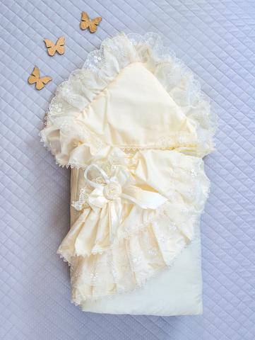Конверт одеяло Луиза (кремовый)