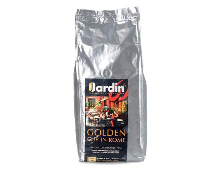 Кофе в зернах Jardin Golden Cup in Rome, 1 кг (Жардин)