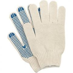 Перчатки трикотажные с ПВХ Точка 4 нити 42г 10класс 10пар/уп