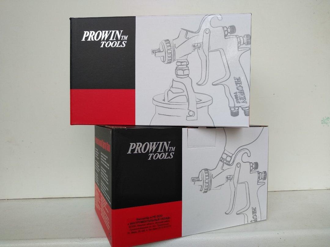 Краскопульт Prowin KH-410M-14 (HVLP) коробка