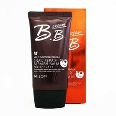 Mizon Snail Repair BB Cream SPF 32 PA+++ #02 Sаnd Beige - Увлажняющий ВВ-крем с муцином улитки (бежевый)