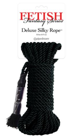 Deluxe Silky Rope веревка для фиксации черная