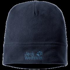Шапка флисовая Jack Wolfskin Real Stuff Cap night blue