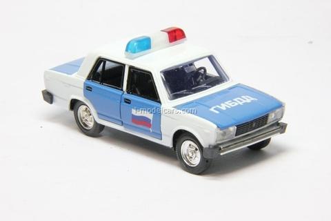 VAZ-2105 Lada GIBDD Police Agat Mossar Tantal 1:43
