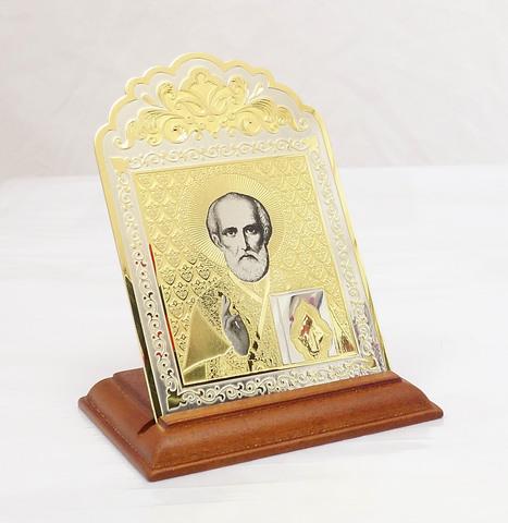 Икона Николай Чудотворец настольная