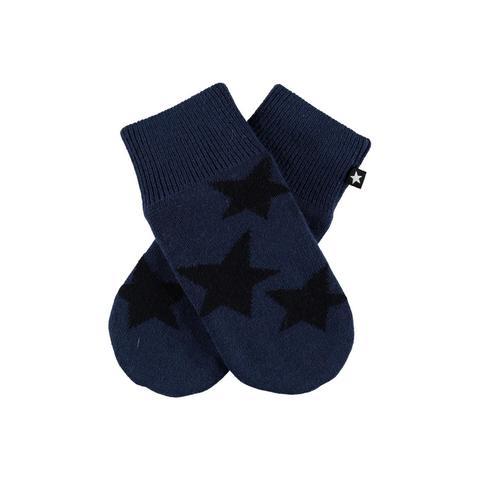 MOLO Snowfall варежки из шерсти и флисовой подкладкой для мальчика